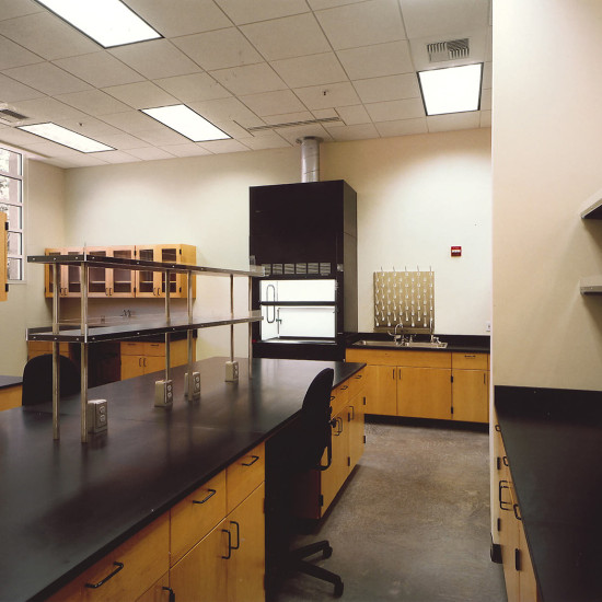 University of the Pacific Biology Lab