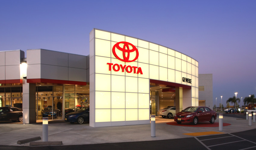 Geweke Toyota Dealership
