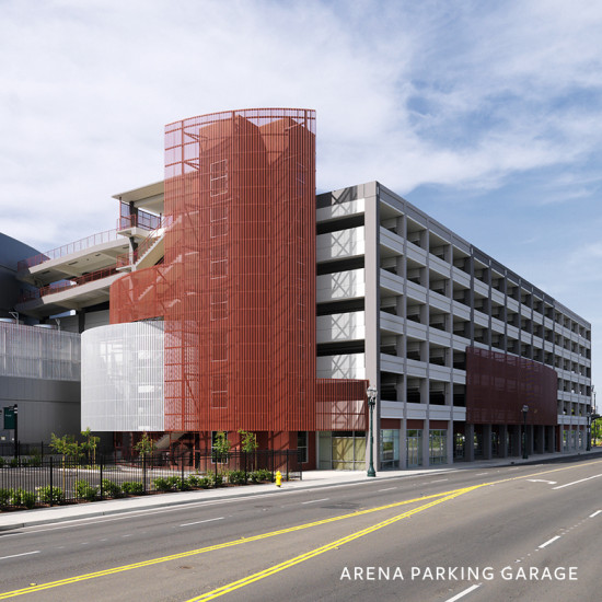 City of Stockton Arena and Coy Parking Garages