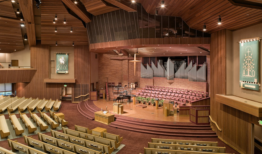 Fair Oaks Presbyterian Church Sanctuary Renovation
